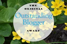 The Original Outstanding Blogger Award – MRS. T'S CORNER