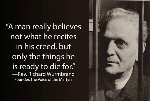 BlogIEP Integridade do Evangelho na Pregação: Testemunho: Rev. Richard  Wumbrand